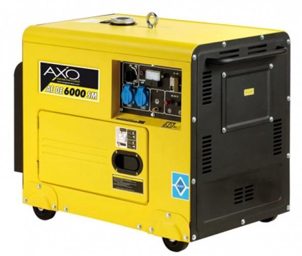 Prezzo generatore di corrente AXO AEDE 6000 SM SILENZIATO DIESEL - axo