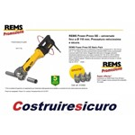 prezzo PRESSATRICE REMS CON SET GANASCE POWER PRESS E BASIC PACK IN VALIGIA