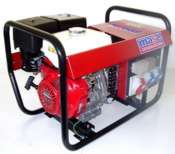 Prezzo generatore di corrente 5 5 kva portatile benzina for Generatore di corrente honda usato