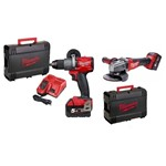 prezzo milwaukee M18 FPD-502c + M18 CAG 115-0 fuel