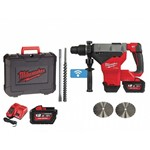 prezzo Martello demo-perforatore Milwaukee M18 FHM-122C con 2 batterie 18V 12 Ah