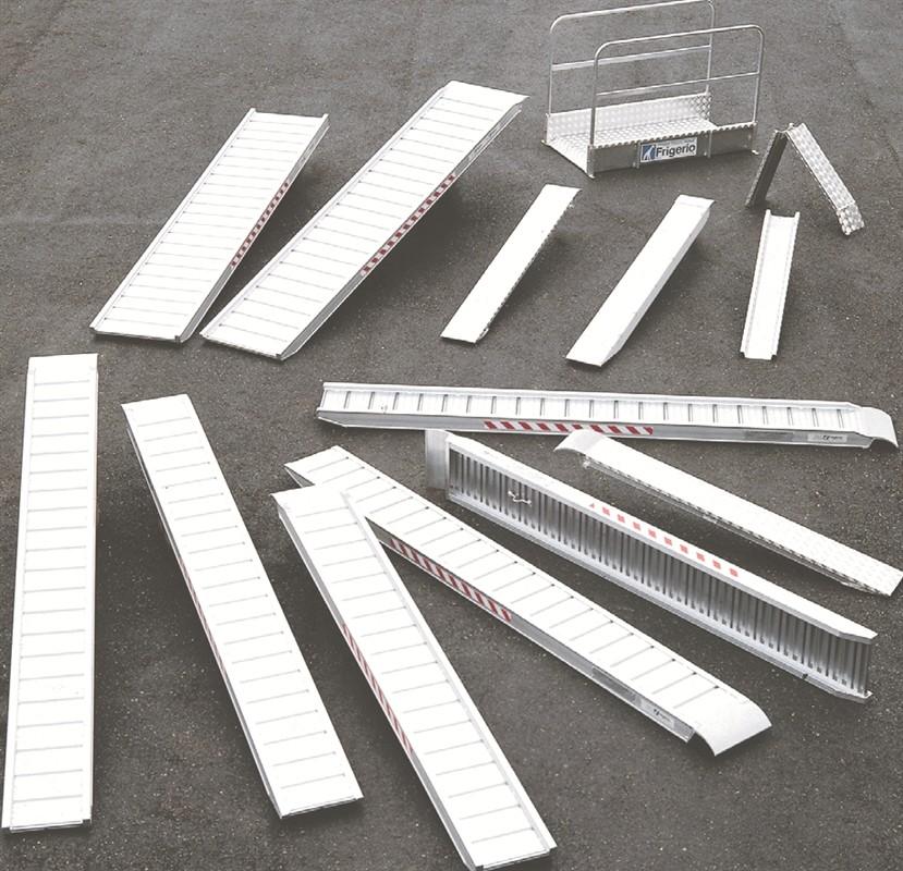 Prezzo rampa da carico in alluminio frigerio frigerio for Rampe di carico in alluminio