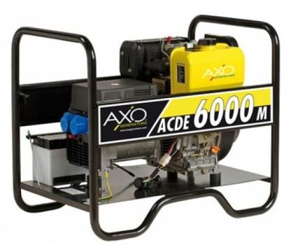 Prezzo generatore di corrente diesel axo acde 6000m diesel for Generatore di corrente diesel usato