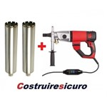 prezzo CAROTATRICE combinata DD3-152 milwaukee 1.900W + corone diamantate d. 82-102 in valigetta