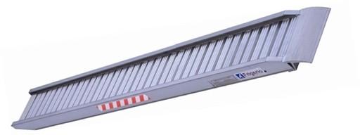 Prezzo rampa da carico in alluminio mt 4 50 frigerio for Rampe da carico usate