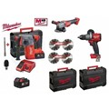 COMBO KITS FUEL MILWAUKEE Cag-115 + CHX + FPD2
