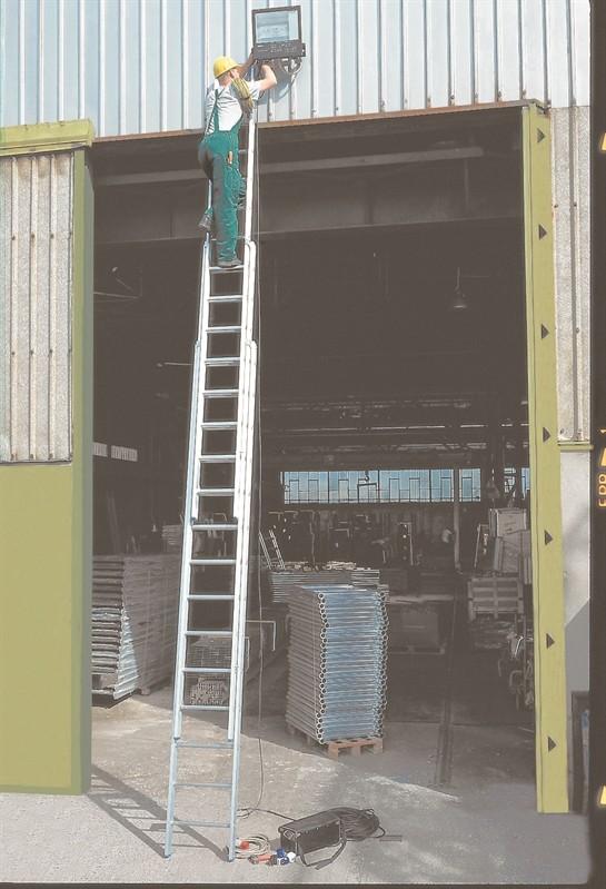 Prezzo scala in alluminio a sfilo a 3 elementi allungabile a mano frigerio mod 5048/3x10 - Frigerio